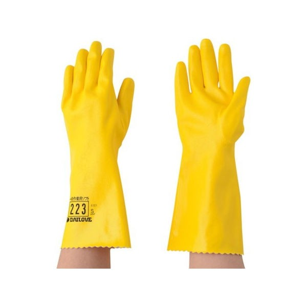 DAILOVE 耐溶剤用手袋 ダイローブ223(S) D223S