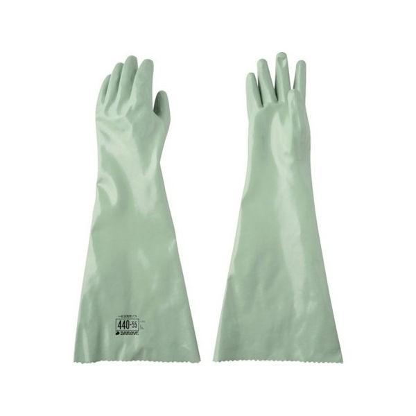 DAILOVE 耐溶剤用手袋 ダイローブ440-55(L) D44055L