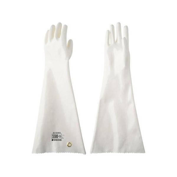 DAILOVE 耐溶剤用手袋 ダイローブ5500-55(L) D550055L