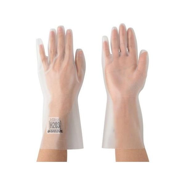 DAILOVE 耐溶剤用手袋 ダイローブH203(M) DH203M