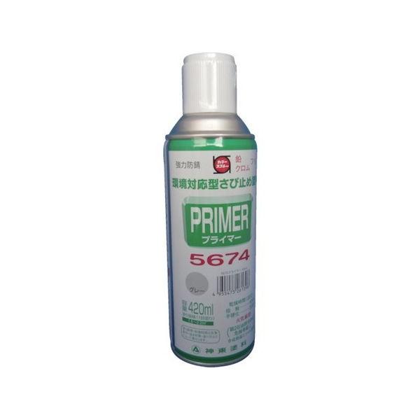 プライマー5674グレー 420ML シントー 9972639-3058