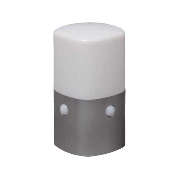乾電池式LEDセンサーライト スタンドタイプ 角型 白色 IRIS OSLMN2KWS-1256