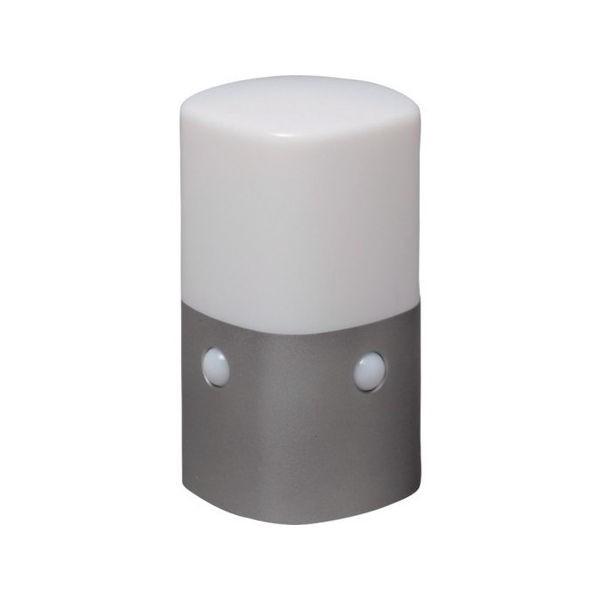 乾電池式LEDセンサーライト スタンドタイプ 角型 電球色 IRIS OSLML2KWS-1256
