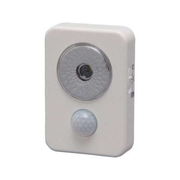 乾電池式LED屋内センサーライト ハンディタイプ IRIS ISL3HNW-1256