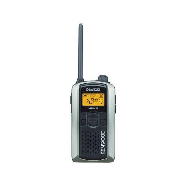 全品P5〜10倍 特定小電力トランシーバー(交互通話) ケンウッド UBZLP20SL-2074