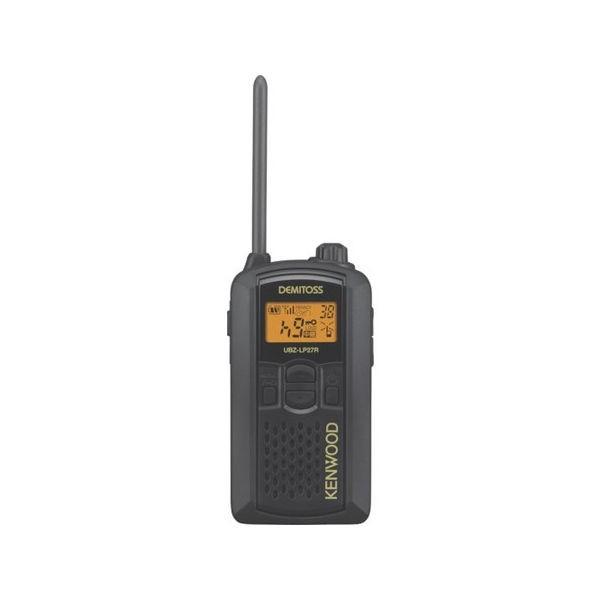 全品P5〜10倍 特定小電力トランシーバー(交互通話) ケンウッド UBZLP27RB-2074
