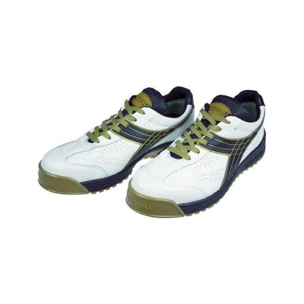 DIADORA 安全作業靴 ピーコック 白/黒 26.5cm ディアドラ PC12265-4321