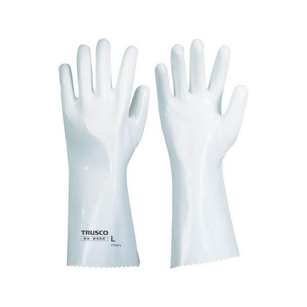 TRUSCO 耐溶剤手袋 重作業用 LL TYGHLL
