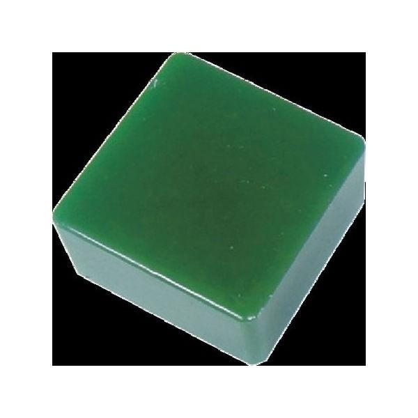 防振・緩衝ブロック ゲルダンパー 緑 50X50mm エクシール 5050-1383