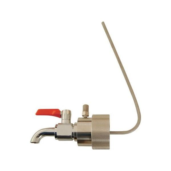 ペール缶用コック (油・オイル・洗剤)40mm専用 アクアシステム BVA40P-1201