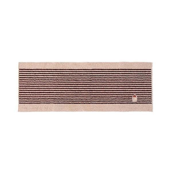 カーサ 洗えるマット 45×120cm ブラウン ルックス