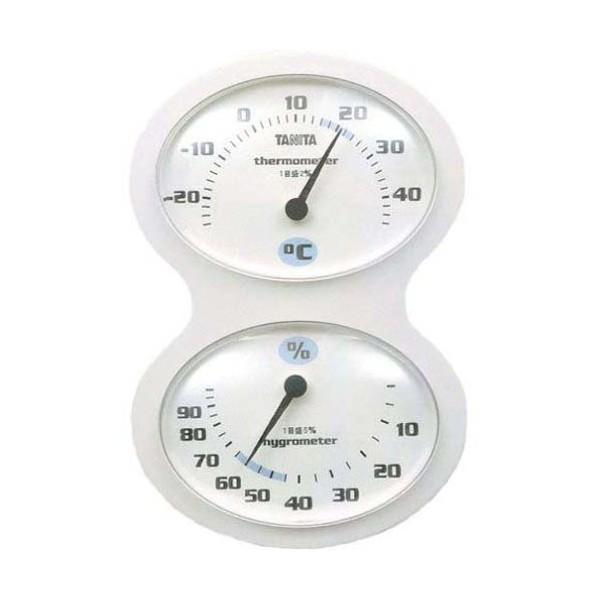 タニタ(TANITA) 温湿度計 ホワイト TT-509-WH