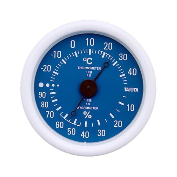 タニタ(TANITA) 温湿度計 ブルー TT-515-BL