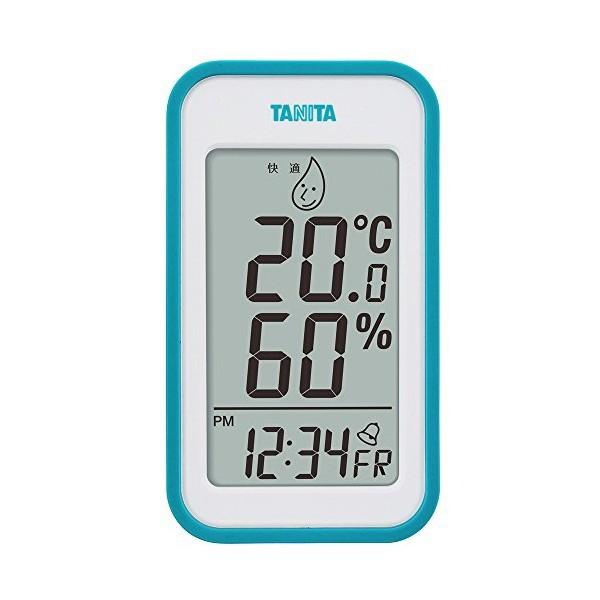 タニタ(TANITA) デジタル温湿度計 ブルー TT-559-BL