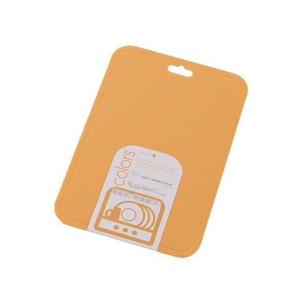 カラーズ 食器洗い乾燥機対応 まな板 オレンジ C-347 パール金属