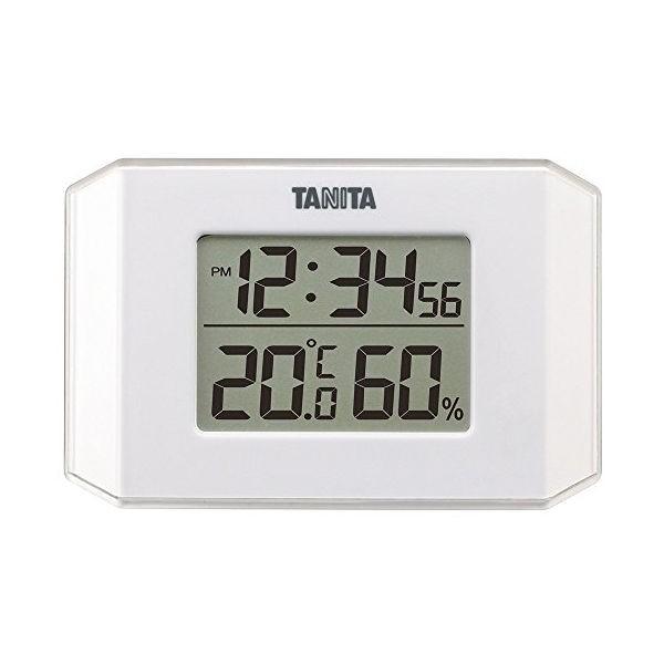 タニタ デジタル温湿度計 TT-574 ホワイト TANITA CODE:118882 白