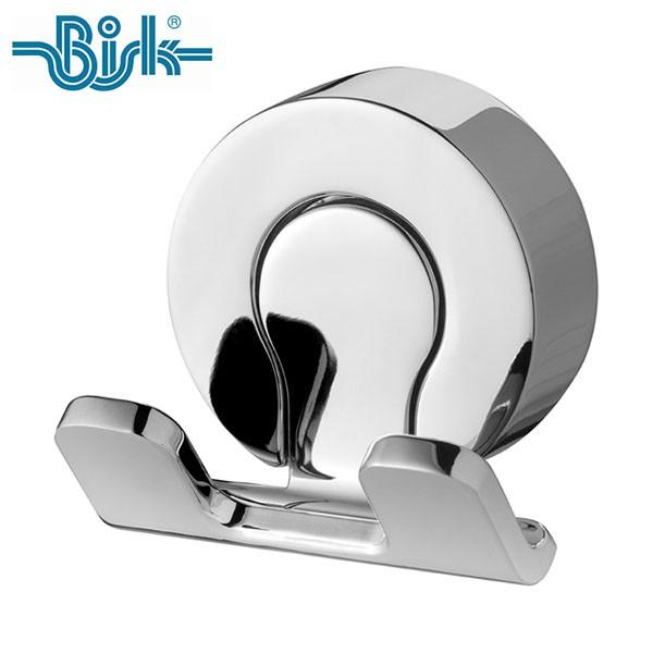 P5倍 OPUS BISK VENTURA ダブルフック BK-WH5312CH ステンレス シルバー 洗面所 収納フック ビスク オーパス