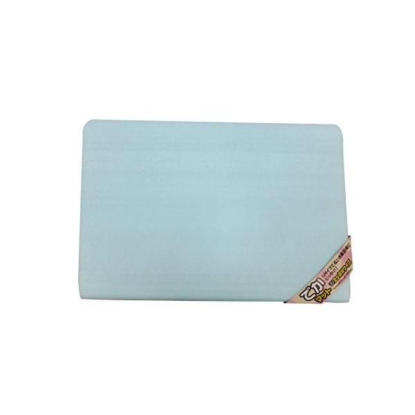 ワイズ お風呂マット 浴室内 でかマット 無地 ブルー 厚さ20mm