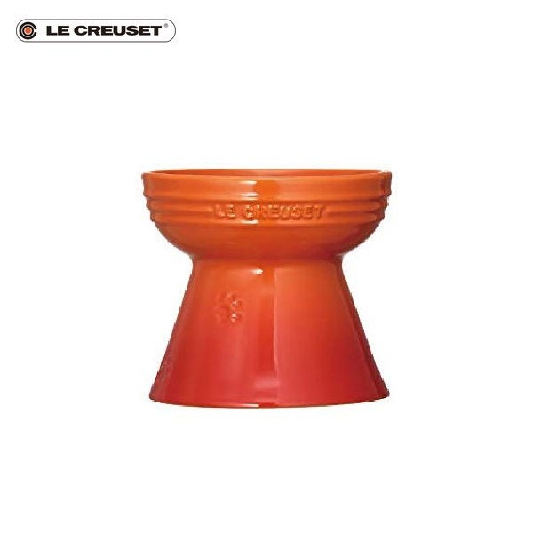 P5倍 ル・クルーゼ ハイスタンド・ペットボール オレンジ CODE:5022401