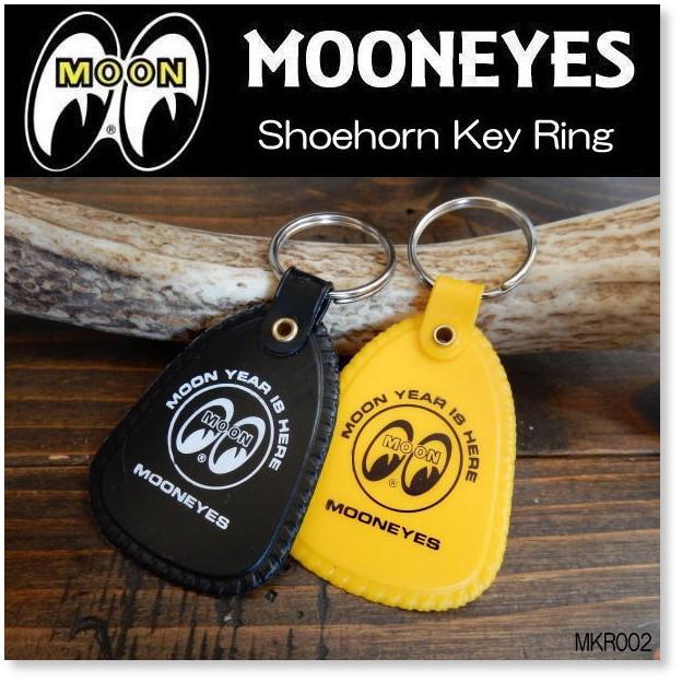 ムーンアイズ MOONEYES Shoehorn Key Ring ムーン シューホーン(靴べら) キーリング [MKR002]