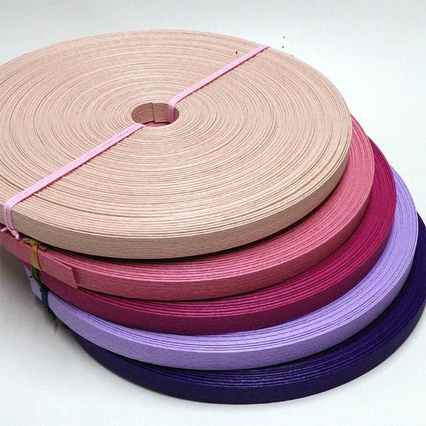 紙バンド(クラフトバンド・クラフトテープ)50m ピンク・パープル系