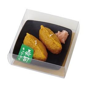 いなり寿司キャンドル ガリ付 カメヤマ 故人の好物シリーズ ローソク ろうそく