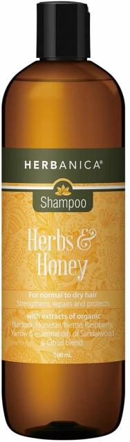 頭皮ケア シャンプー 頭皮ケアシャンプー HERBANICA(ハーバニカ) ハーブ&ハニー 500ml スカルプケアシャンプー 女性 男性