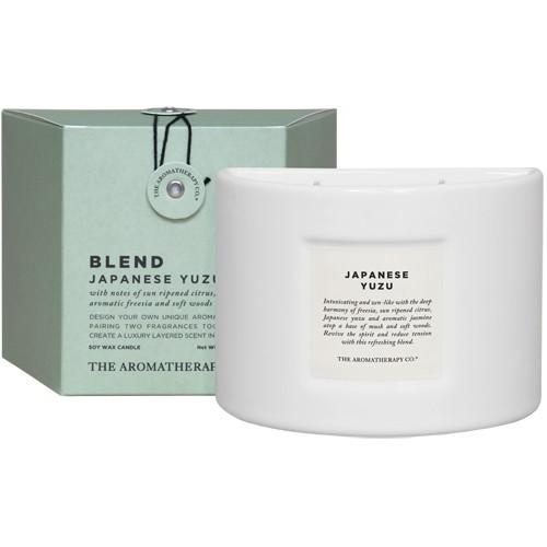 アロマキャンドル アロマセラピーカンパニー The Aroma Therapy COMPANY ブレンドキャンドル 280g ジャパニーズユズ 柚子の香り