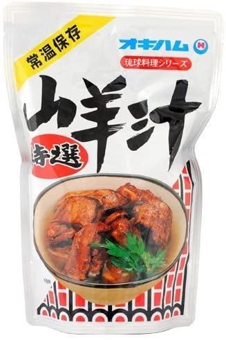 山羊汁 オキハム 400g ヤギ スープ 沖縄料理 レトルト 保存食 沖縄限定