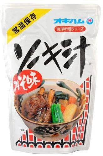 ソーキ オキハム そーき汁 400g 沖縄料理 軟骨ソーキ 軟骨付豚バラ肉 沖縄 食品 沖縄土産