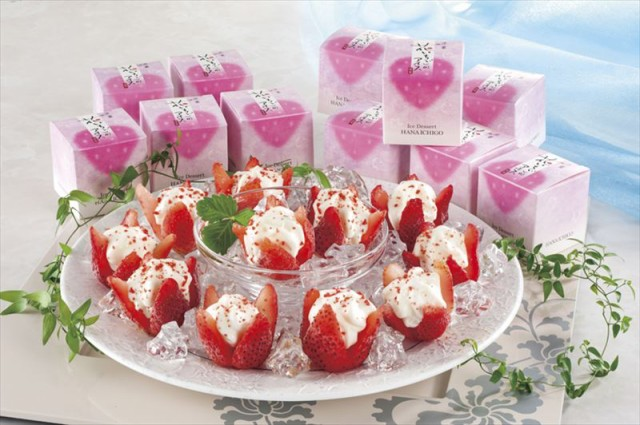 スイーツ お菓子 アイスクリーム ギフト セット 詰め合わせ 贈り物 花いちごのアイス