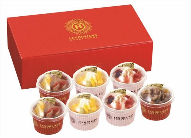 スイーツ お菓子 アイスクリームギフト セット 詰め合わせ 贈り物 銀座京橋 レ ロジェ エギュスキロール クリームパルフェ