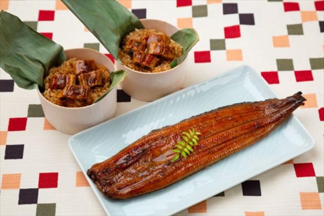 うなぎ ウナギ 鰻 海産品 ギフト セット 詰め合わせ 贈り物 贈答 産直 うなぎ問屋の蒲焼き(長焼)・おこわ詰合せ 内祝い 御祝 お祝い お
