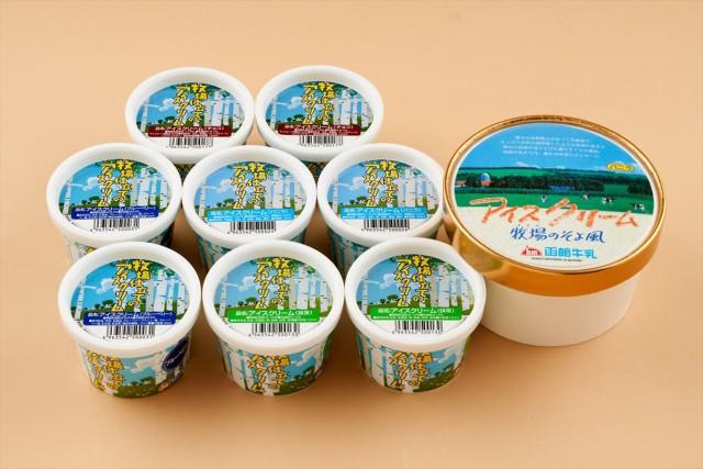 洋菓子 スイーツ 函館牛乳 新・アイスバラエティセット ギフト セット 詰め合わせ 贈り物 贈答 産直 内祝い 御祝 お祝い お礼 返礼品