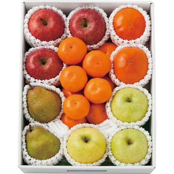 お歳暮 冬 ギフト お祝い 贈り物 御歳暮 果物 フルーツ ミカン 蜜柑 リンゴ りんご 林檎 ラ・フランス 冬の旬の果物 詰合せ