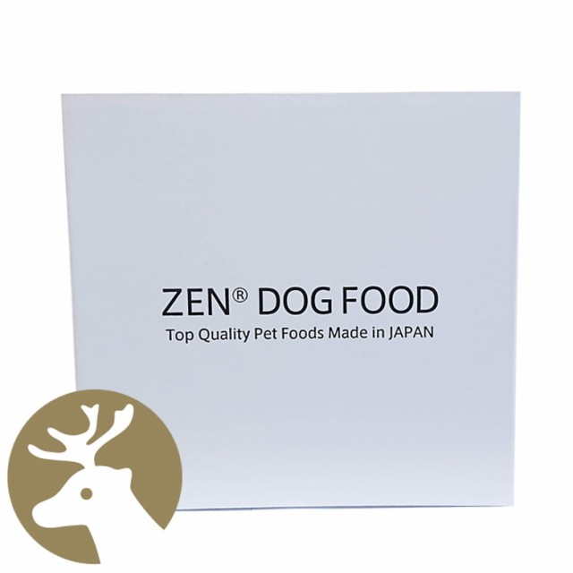 国産ドッグフード ZEN プレミアムドッグ グレインフリー ベニソン (鹿肉) 4kg(1kg×4) 穀物不使用 日本製 小粒 犬の餌 00329