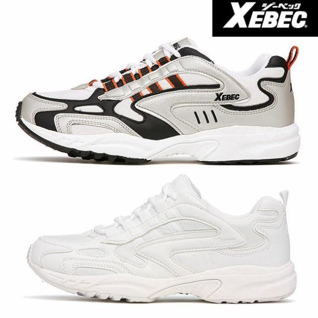 XEBEC ジーベック 男女兼用 静電 スニーカー 85803 ※先芯なし| ブーツ シューズ 靴 現場 作業靴 作業用 作業 メンズ レディース ワー