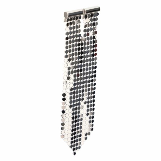 PACO RABANNE/パコ ラバンヌ チャーム SILVER Paco rabanne mesh pixel tie earring レディース 秋冬2020 20PBB0002MET042 ik