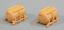 【お取寄商品】TOMIX トミックス Nゲージ UT-1 タンクコンテナ 2個 クリーム 3115