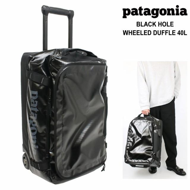パタゴニア キャリーバッグ ソフトスーツケース ボストンバッグ 小型 機内持ち込み可 キャスター2輪 旅行 40L リサイクル ナイロン ユニ