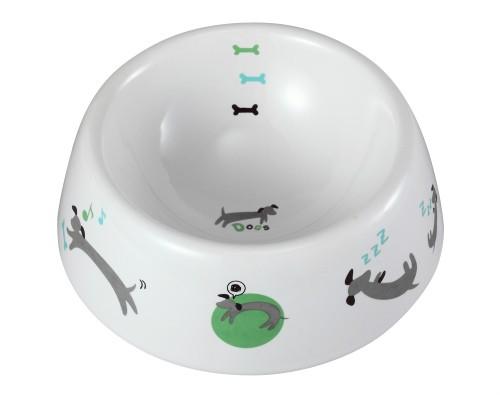 犬用陶製食器 わんこの1日 M ペット 食器