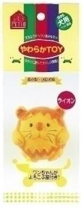 ペティオ やわらかTOY ライオン     ペット おもちゃ