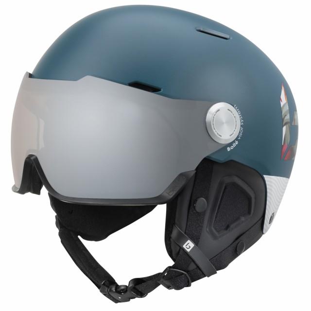 bolle (ボレー) ヘルメット MIGHT VISOR PREMIUM 19-20 マイト バイザー プレミアム マットネイビーハワイ ボレー bolle 31851 31852