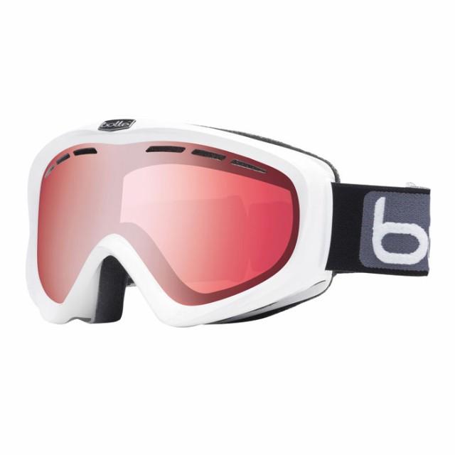 送料無料 bolle (ボレー) ゴーグル Y6-OTG 20491 シャイニーホワイト バーミリオンガン 20-21モデル ボレー 眼鏡対応ゴーグル