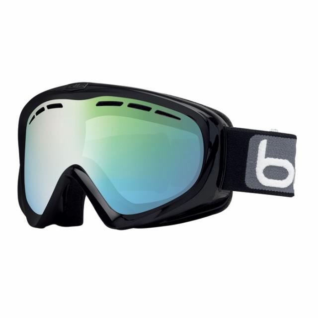 送料無料 bolle (ボレー) ゴーグル Y6-OTG 21603 マットブラック ファントムグリーンエメラルド 20-21モデル ボレー 眼鏡対応ゴーグル