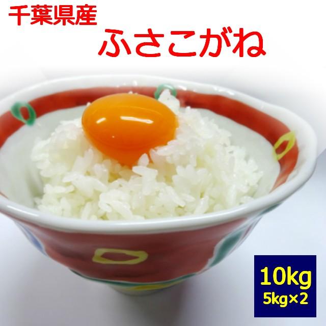 【送料無料】【白米】【令和2年産】千葉県産 ふさこがね 10kg  お取り寄せ 5kg×2 10キロ  お米