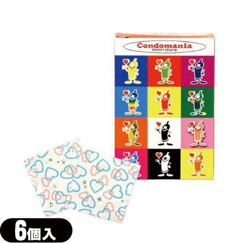 (即日発送)◆(男性向け避妊用コンドーム)ジャパンメディカル コンドマニア・ミニストア 500(Condomania・mini-store) 6個入り - 女性でも