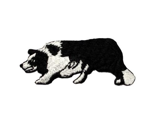 ブリード刺繍ワッペン/ボーダーコリー(全身)