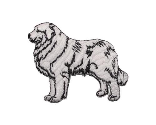 ブリード刺繍ワッペン/グレートピレニーズ