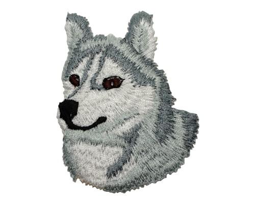 ブリード刺繍ワッペン/シベリアンハスキー
